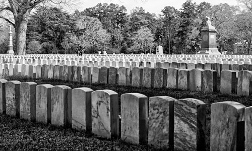 civil war soldier's graves